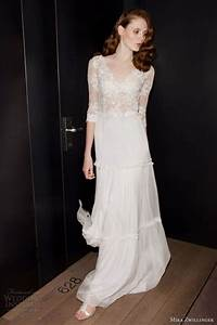45 beautiful boho chic wedding dresses happyweddcom With chic wedding dresses