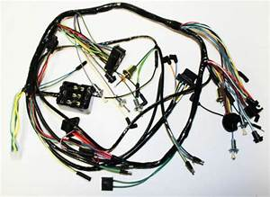 New  1966 Ford Mustang Under Dash Complete Wire Harness Made In The Usa
