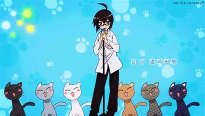 Anime Dancing Kocchi Acchi Cat Singer Giphy