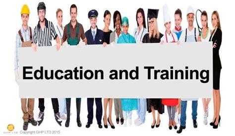 aofaq level  education  training qcf ghp