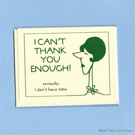Humorous Thank You Messages