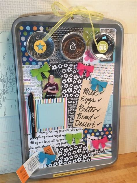 sheet tombow organizer magnetic baking tombowusa upcycled diy usa tabs power into box upcycle cute boards
