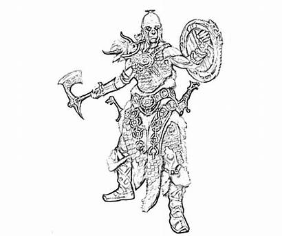 Skyrim Scrolls Elder Coloring Pages Collections Printable