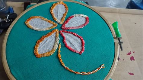 Embroidery Applique Tutorial by Applique Stitch Work Embroidery By Ammaarts