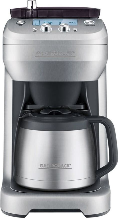 kaffeemaschine mit mahlwerk und tassenfunktion gastroback kaffeemaschine preisvergleiche