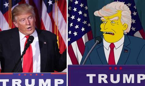 Simpsons Predicted Donald Trump President