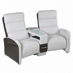 canape 2 places tablettes cruiser With canape home cinema 4 places
