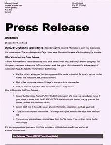 free sample press release template word With event press release template word