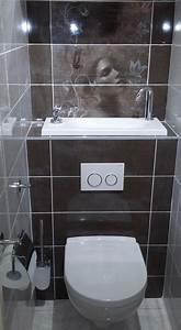 Lave Main Suspendu : wc suspendu avec vasque lave mains blog wici concept ~ Nature-et-papiers.com Idées de Décoration