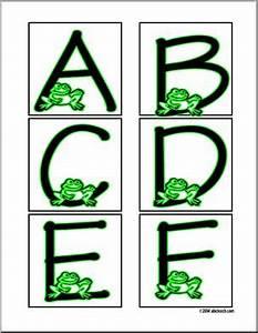 alphabet letter patterns frog a l upper case only With frog alphabet letters