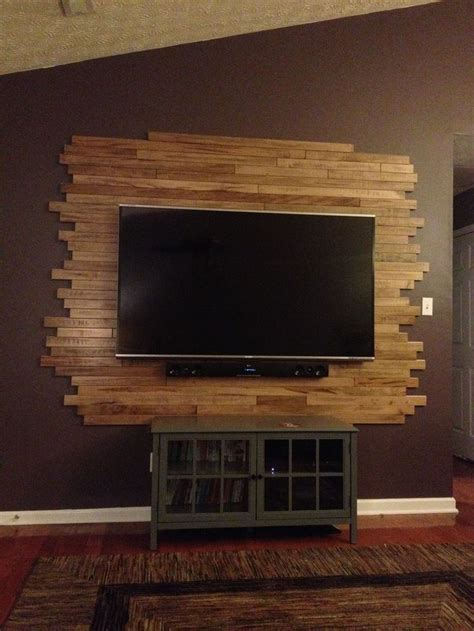 Tv Wand Holz by 25 Best Ideas About Tv Entertainment Wall On