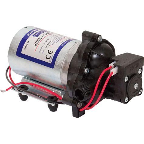 shurflo self priming 12 volt diaphragm water pump 180