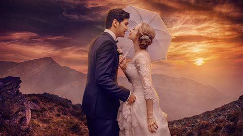 wedding photoshop manipulation photo effects color