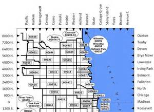 Chicago Zip Code Map