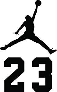amazoncom nba jordan  jumpman logo air huge vinyl