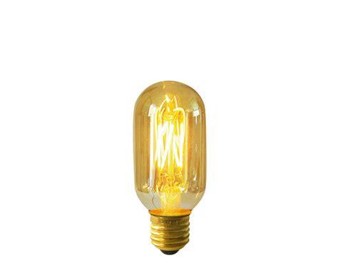 Gold Tubular Shaped Filament Led Light Bulb, Es