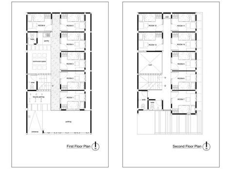 bioclimatic boarding house  andyrahman architect