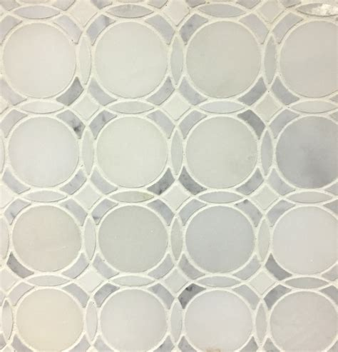 carrara marble bathroom designs infinity water jet mosaic tile in white
