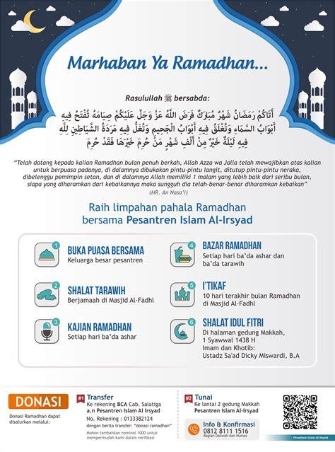 kegiatan ramadhan    pesantren islam al irsyad