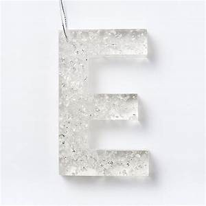 resin ornaments letters west elm With resin letters