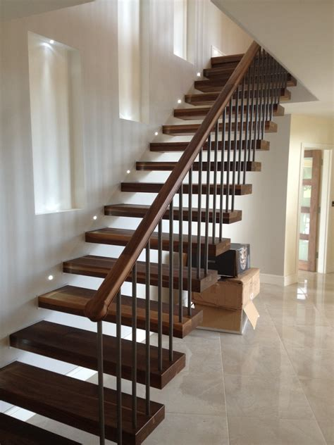 white wood fence panels timber stairs knottown joinery