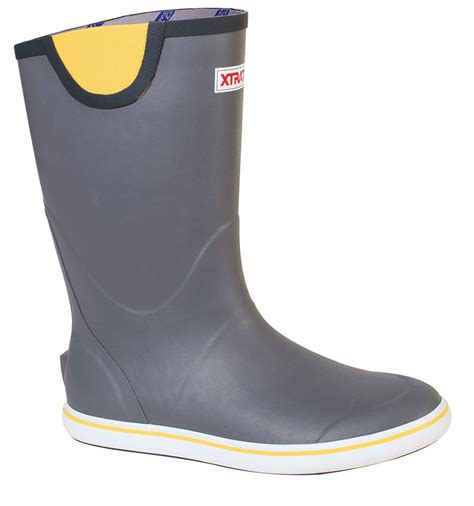 Fishing Boat Rubber Boots by Xtratuf Full Rubber Deck Boots Tackledirect