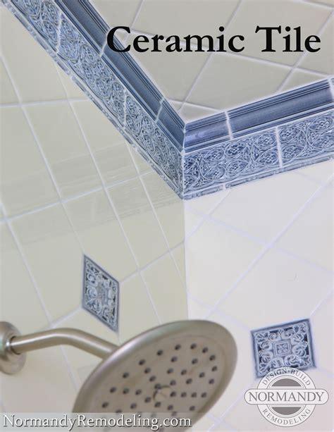 ceramic vs porecelain tile normandy remodeling