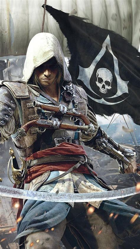 We have 80+ amazing background pictures carefully picked by our community. 75+ Assassins Creed Black Flag Phone Wallpaper - wallpaper craft