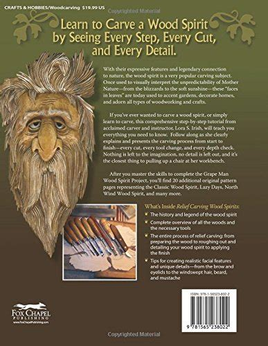 relief carving wood spirits  step  step guide