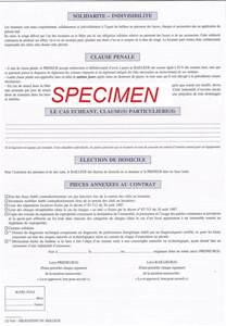 Contrat Location Meublée by Plus Riche Et Independant Les Documents N 233 Cessaires Au