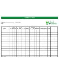 crowns score sheet template  printable