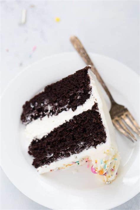 chocolate cake  vanilla buttercream  classic twist