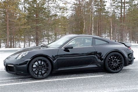 Porsche 911 (992-generation) Spy Shots And First Details