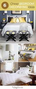 6, Cheap, Bedroom, Decorating, Ideas, U2022, The, Budget, Decorator