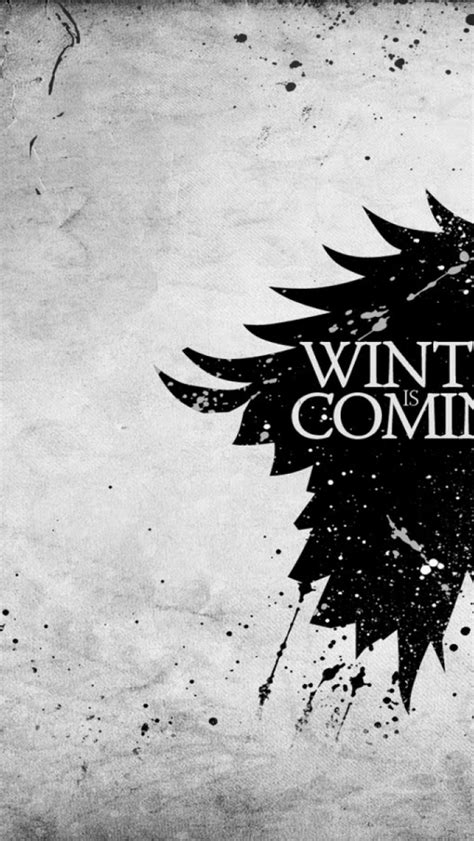 Free download winter is coming banner direwolf arms house