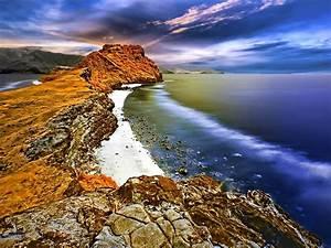 Hdr, Beach, Beautiful, Scenery, Wallpaper, 1920x1200, Wallpapers13, Com