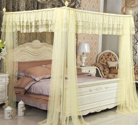 king size bed canopy drape princess home canopy bed netting mosquito net curtain