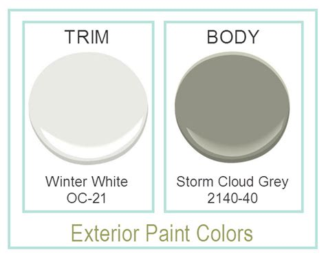 picking exterior paint and meeting neighbors