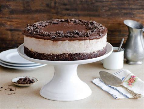 So, a flat decorated cake is always my preferred option: Flourless Chocolate Coffee Ice Cream Cake   Recipe   Coffee ice cream cake, Flourless chocolate ...