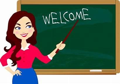 Teacher Vector Background Chalkboard Icons Ai Illustration