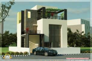 house plans contemporary 5 beautiful modern contemporary house 3d renderings kerala home design and floor plans