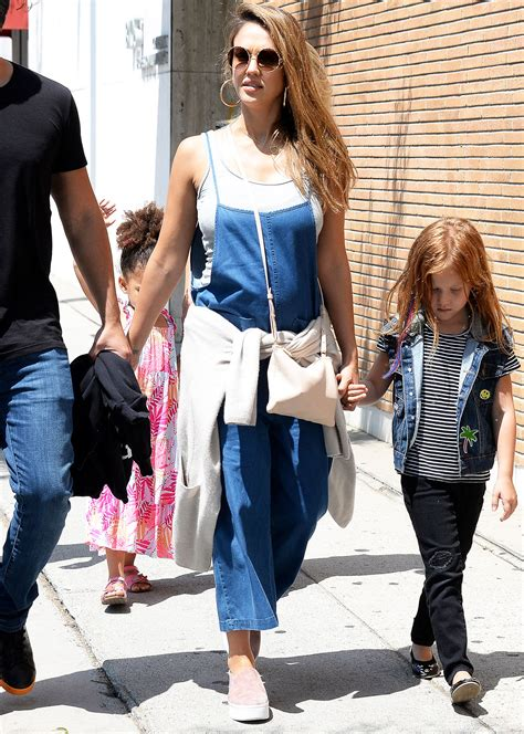 denim dress alba wore the affordable brand fashion are