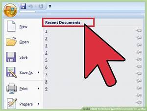 how to delete word documents on a mac 11 steps with With documents 6 for mac