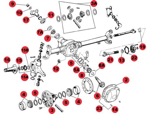 diagram jeep front axle seals wiring library