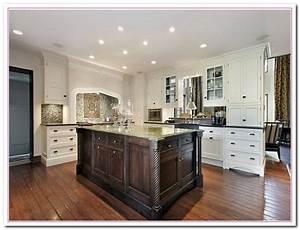 white kitchen design ideas within two tone kitchens home With design ideas for kitchen cabinets