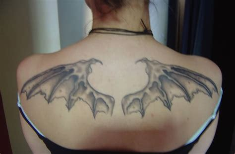 bat wings tattoos images pictures tattoos hunter