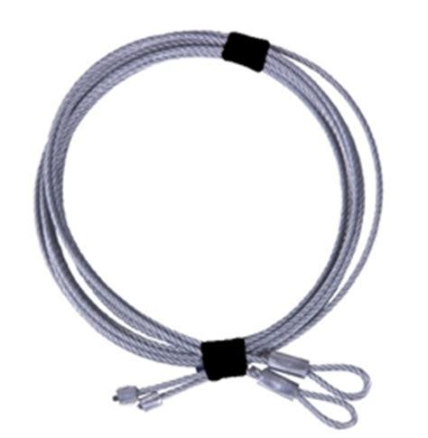 garage door cable replacement replacement garage door cable set for 8 high torsion