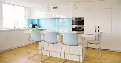 blue kitchen cabinets for white kitchen cabinets and walls light wood floor light 7939