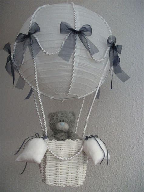 heißluftballon basteln geschenk quot heissluftballon quot marine baby mobile hei 223 luftballon baby ballon und hei 223 luftballon basteln