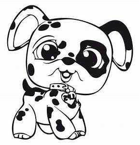 Little Pet Shop Baby Dalmatian Dog Coloring Pages : Batch ...